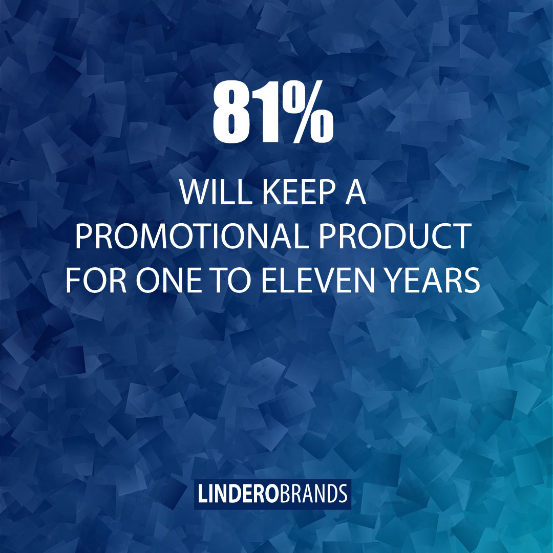 Statistic: 81% Will Keep A Promotional Product For One To Eleven Years