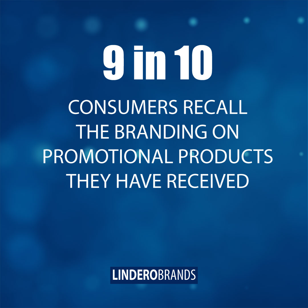 Statistic: 9 in 10 Consumers Recall The Branding On Promotional Products They Have Received