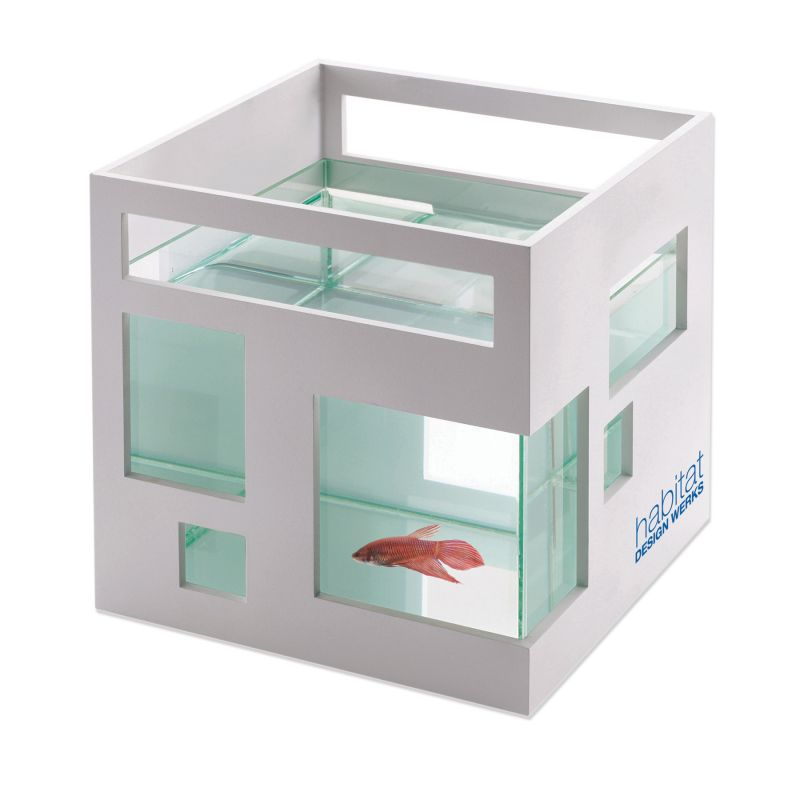 Umbra Fish Hotel in White