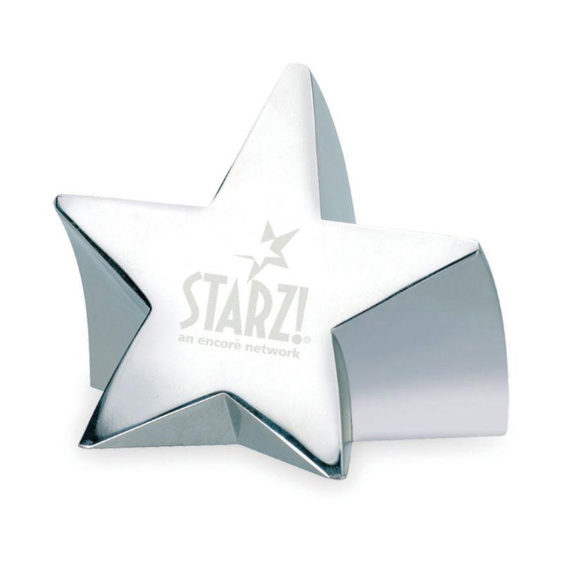 Star Struck Paperweight in Silver