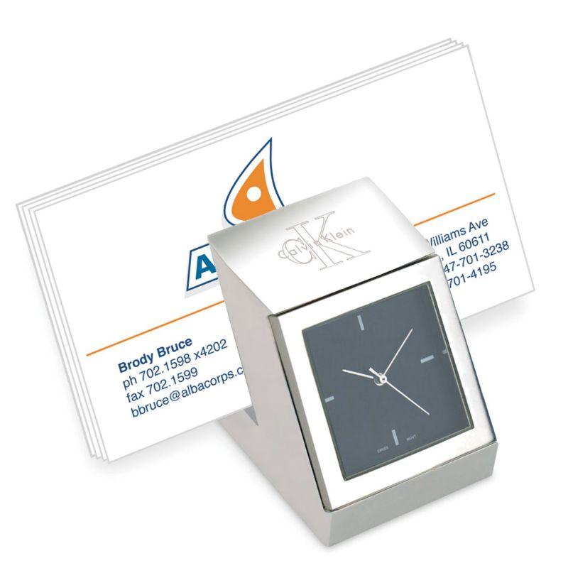 Time Slot Business Card Holder