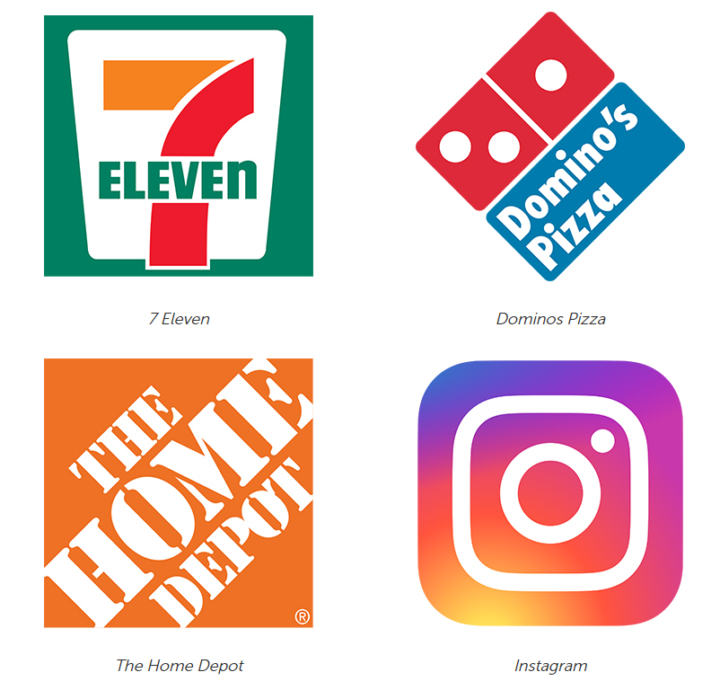 Square Logos from Big Brands